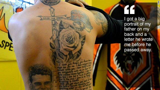 Tai Woffinden tattoo 2.