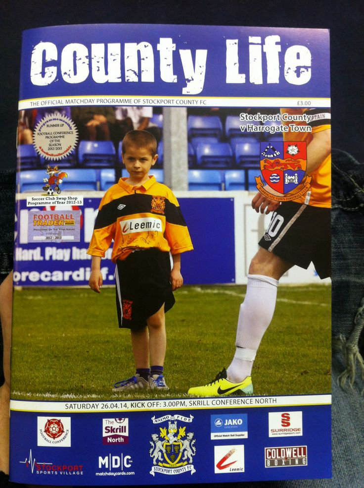 Stockport County v Harrogate Town