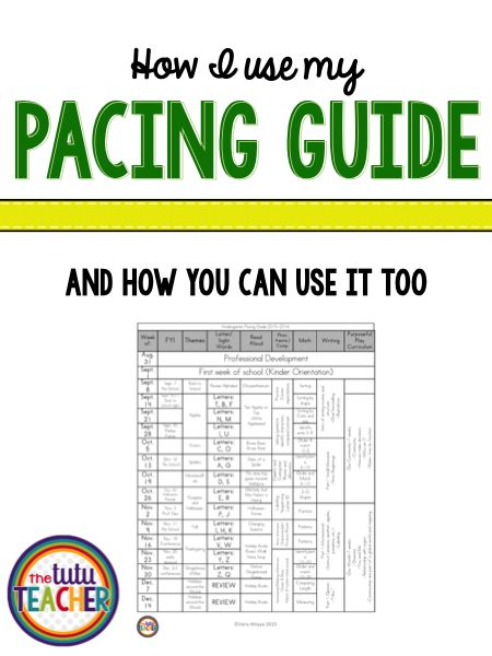 Do you teach Kindergarten? Are you wondering how to pace the year out so you can get everything covered? Then you're going to love this FREE Kindergarten pacing guide! Let an experienced Kinder teacher share how she uses a pacing guide & explain how you c