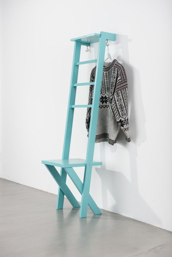 Tb 2 Modern Day Valet Stand Ladder Chair In Oak Valet Stand