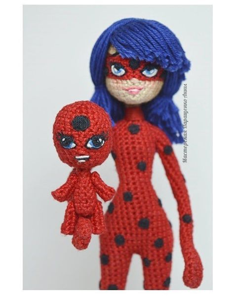 Amigurumi Ladybug : 1000+ images about miraculos amigurumi on Pinterest