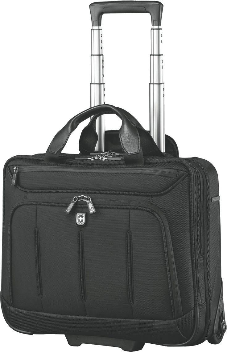 Laptop bags office depot - Victorinox Vx One Rolling Briefcase 2 Rollen