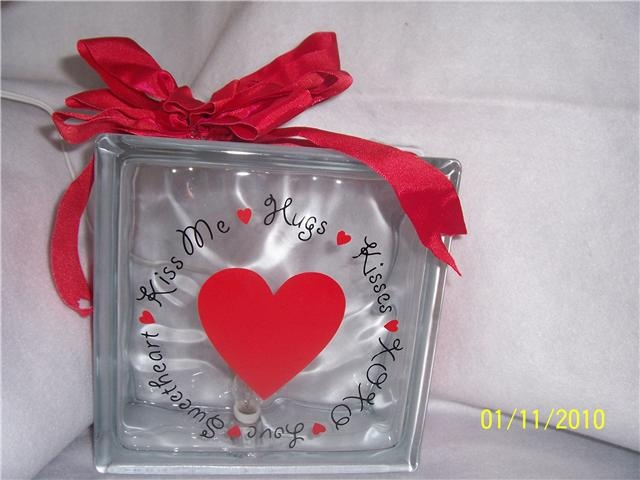 1000 images about glass blocks ideas on pinterest for Glass block crafts pictures