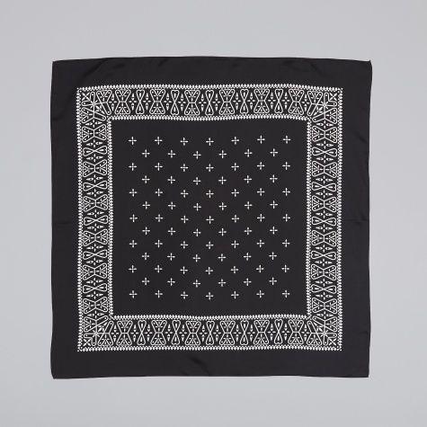 Silk Bandana - Black