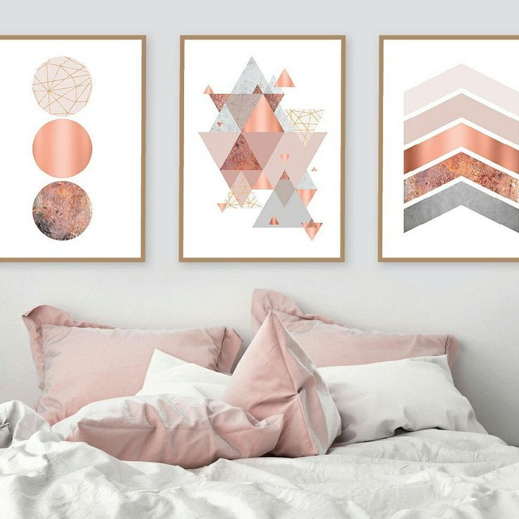 Pink Wall Art best 25+ copper wall art ideas on pinterest | gold print, metal