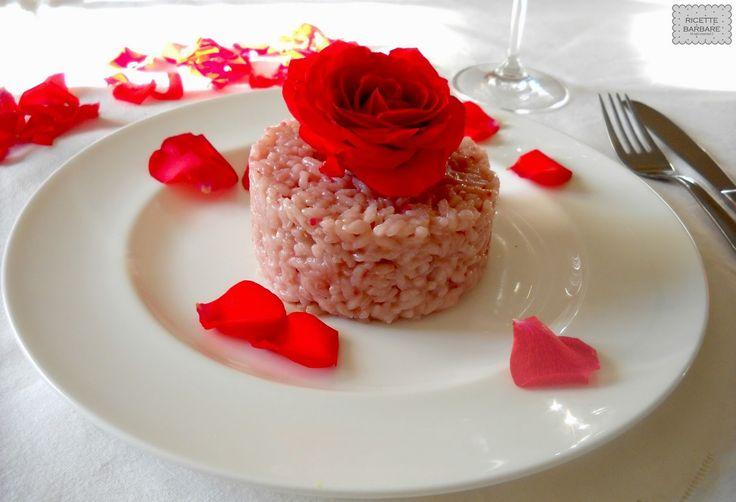 Ricette Barbare: Rose petal risotto