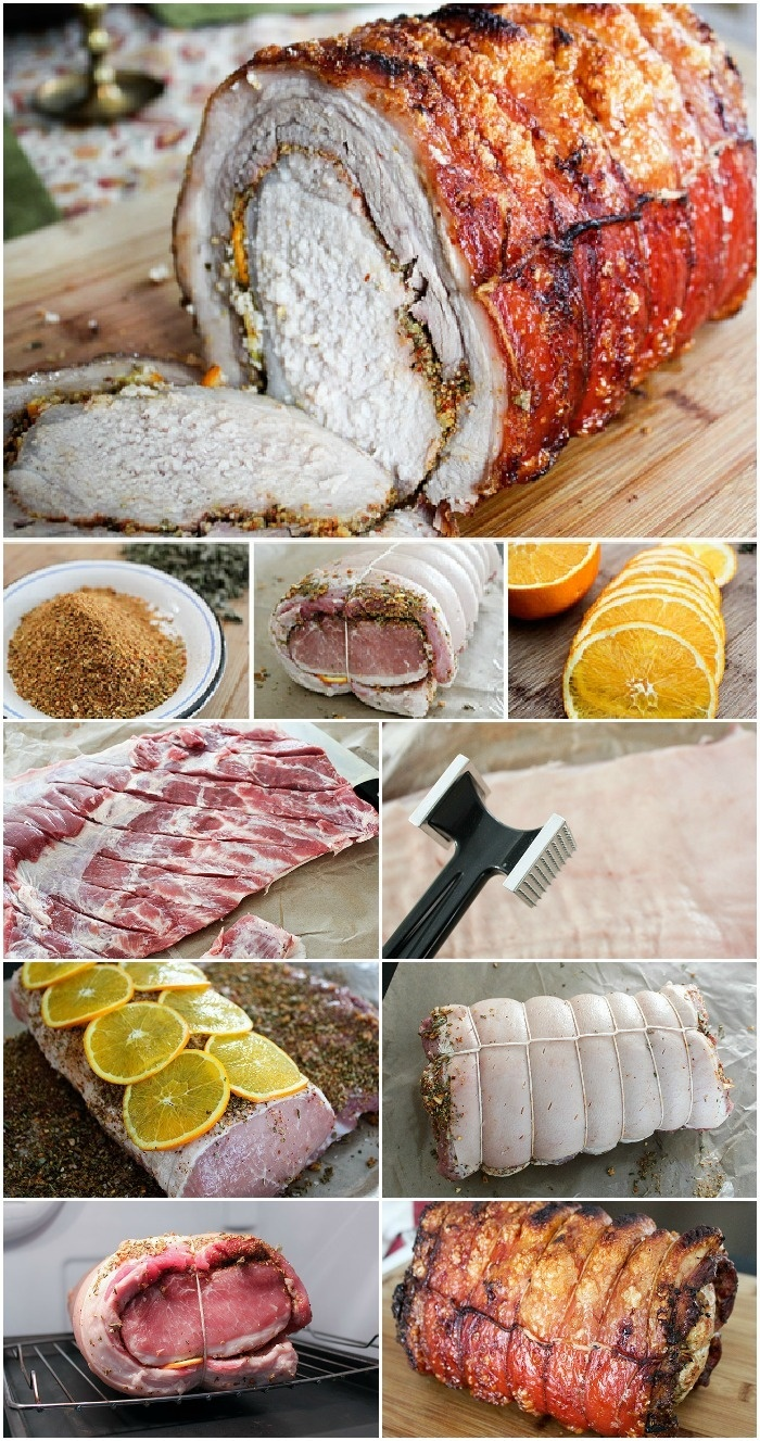 How to Make Porchetta at home....hey why not come to Le Marche this year and try some of our local porchetta!