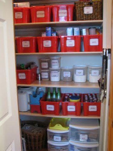 Operation Pantry Makeover Bin Method Cheap Storage