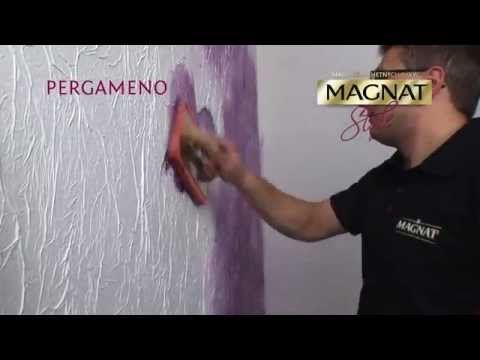 Paints and decorative structures Magnat - Pergameno english version