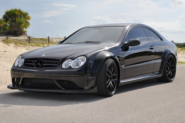 RENNtech Launches Mercedes-Benz CLK 63 AMG Black Series Carbon Upgrades - Carscoops