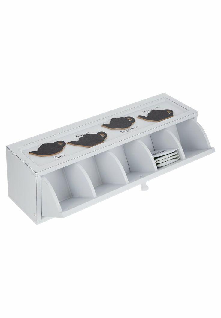 Hoff - TEA BOX - Opbevaringsbeholdere - hvid