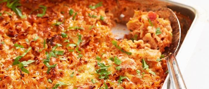 Recept på vegetarisk lasagne - recept från Lantmannen.se