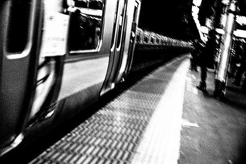 "Transit ""Tokyo"" *Leica M6 Titanium (0.85 modified) *Canon 50mm f/0.95 lens (modified for Leica-M)"