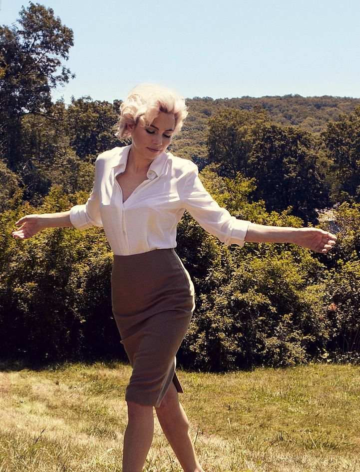 Beautiful Photos of Michelle Williams as Marilyn Monroe