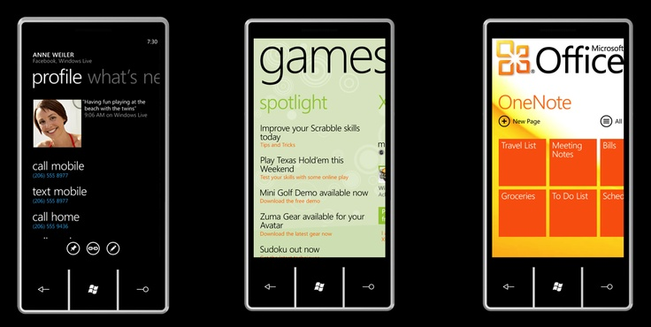 Metro UI - WIndows Phone UI Design