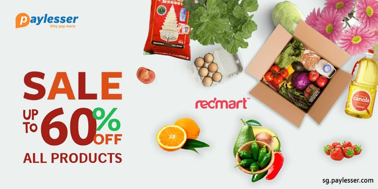 Start shopping now with #REDMART, sale UPTO 60% OFF on all products .click here..https://goo.gl/nH4pPR