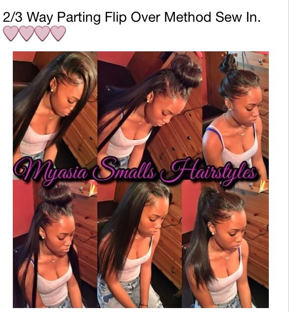 If I ever go back to sew ins, I would get this type of method.