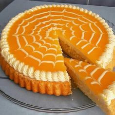 Portakal soslu tart pasta