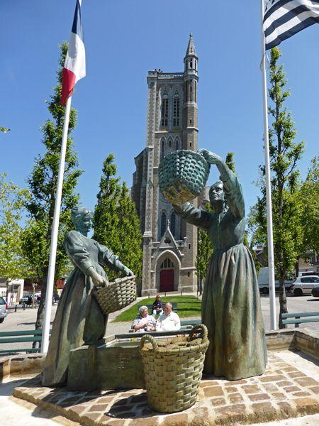 Les laveuses d'huitres - Cancale, Bretagne