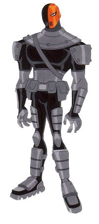 Slade is the archenemy of the Teen Titans, who wants them destroyed for his own unknown reasons, and is the main antagonist of Season 1 and Season 2; appearing only as a loyal and devoted minion of the mighty demon Trigon in Season 4. He is also the arch-nemesis of Robin. Tier: 8-C| 8-A