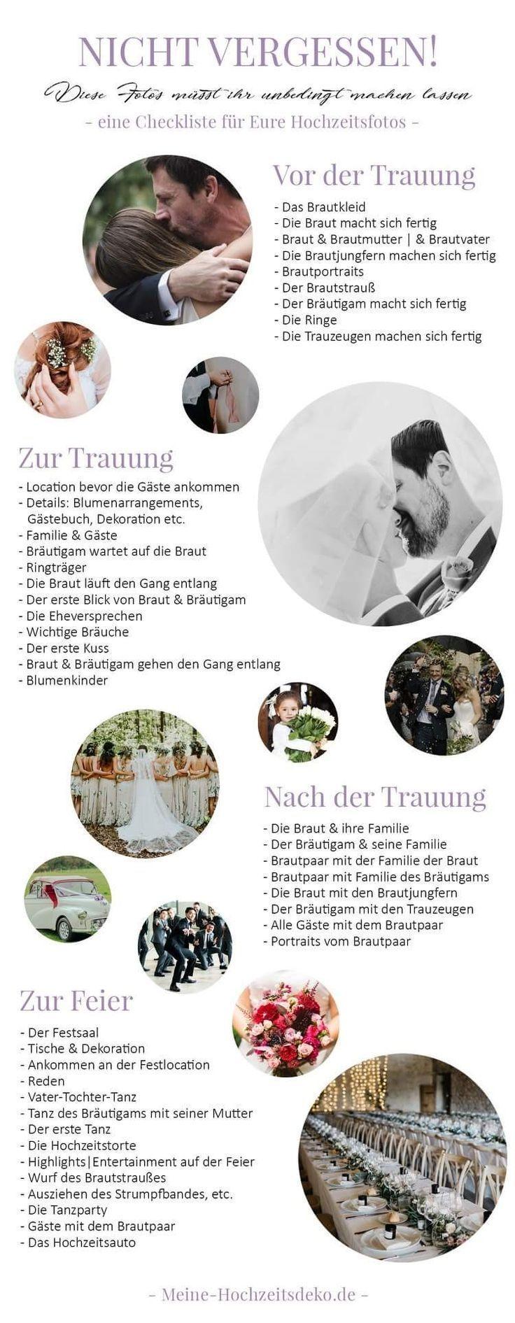 Orga Schritte Hochzeit Ideen In 2020 Hochzeit Ablauf Hochzeit Hochzeit Bildideen