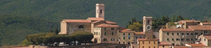 Afternoon on Chianni in pisan hills of Tuscany