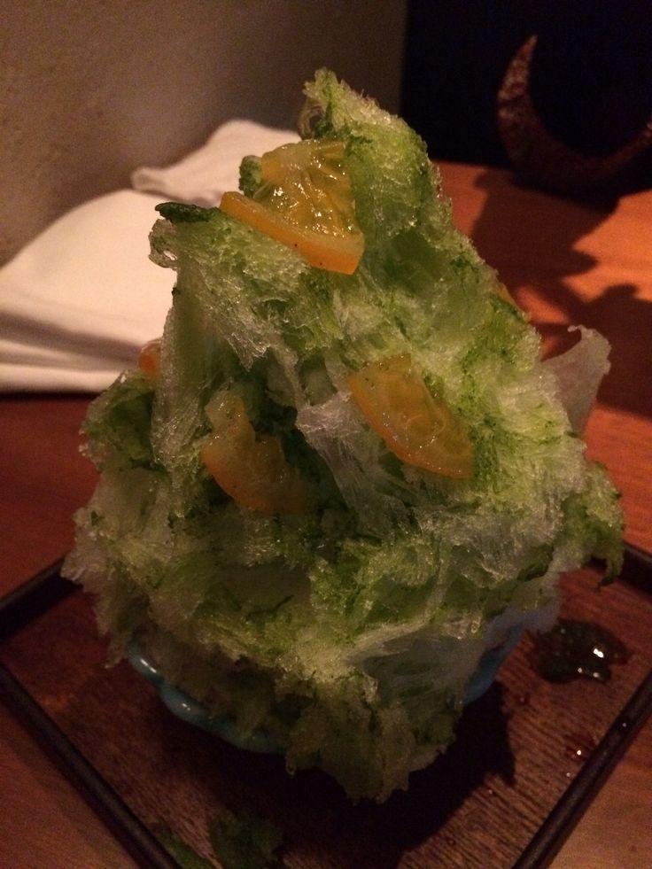 Basil&Lemon かき氷