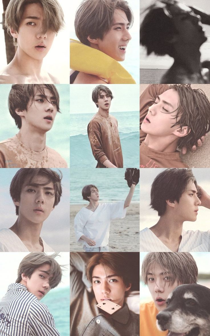 Wallpaper iphone exo siamzone -  Scans 160920 Exo S Dear Happiness Fiji Photobook Download Exodicted
