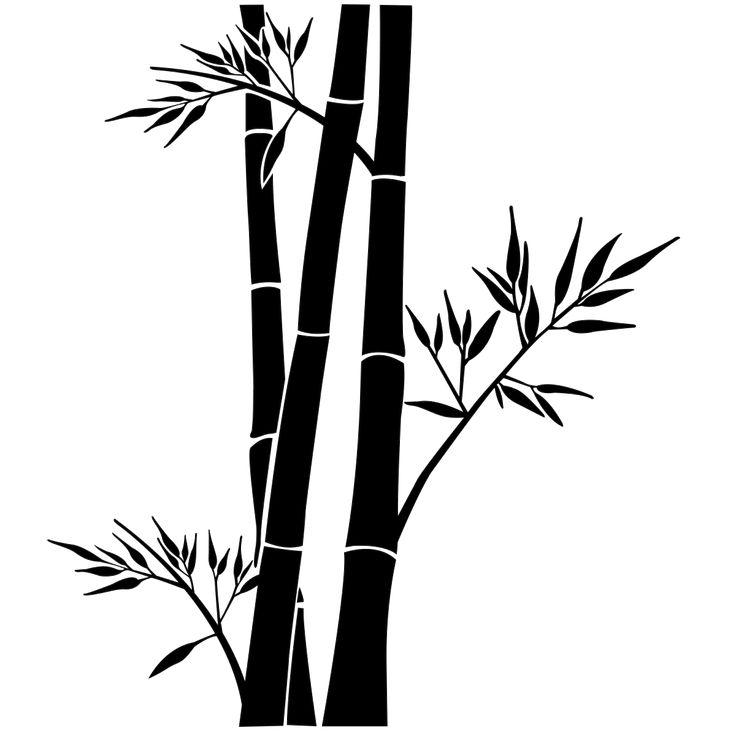 Les 25 Meilleures Idées De La Catégorie Stickers Bambou Sur