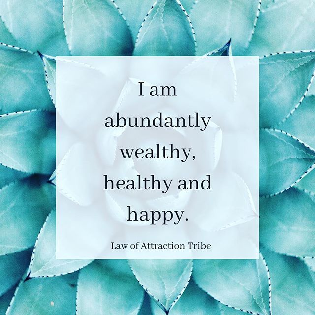 Affirmations for wealth and prosperity. Follow @la…