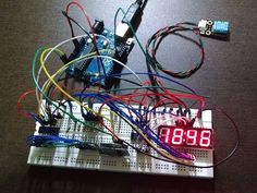 Digital Clock with Arduino, RTC and Shift Register 74HC595