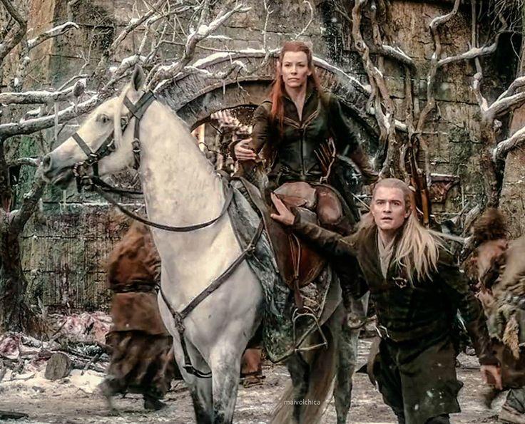 Тауриэль и 13 гномов   Tauriel [ The Hobbit ]