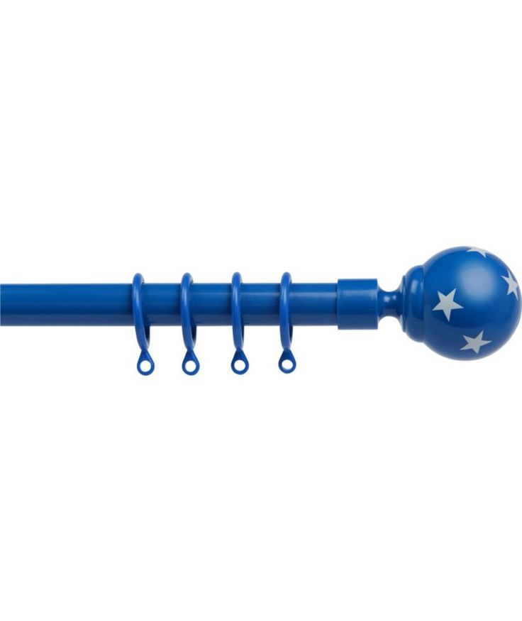Buy Heart of House Extendable Curtain Pole Set - Blue Stars at Argos.co.uk - Your Online Shop for Curtain poles and tracks.