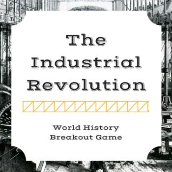 This game was designed for high school students to help them review what they have learned about the Industrial Revolution. (See below for content.) This purchase includes clues, answer sheets, hint cards, and every digital file that you need for the breakout.