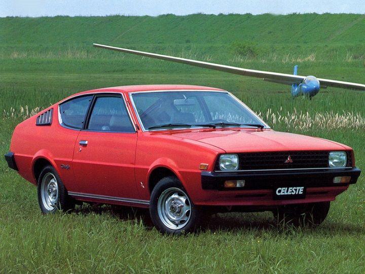 Mitsubishi Celeste (1977 – 1981).