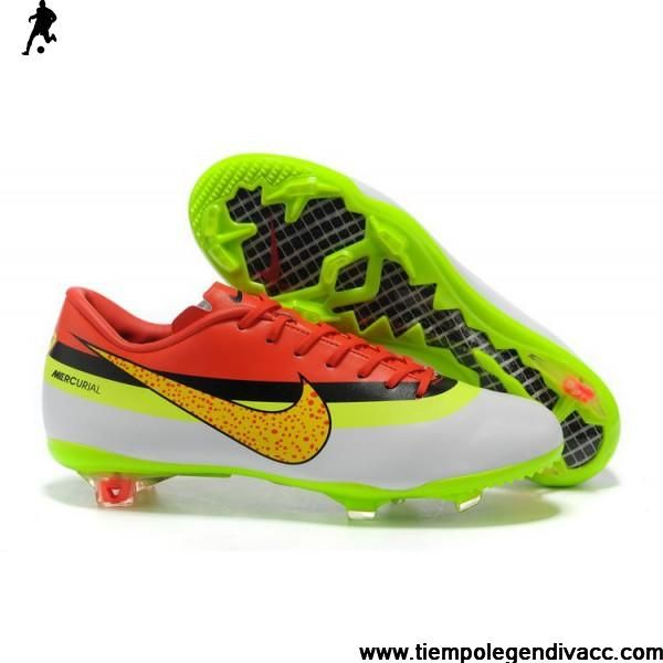 68ed6207d2b4 authentic cristiano ronaldo nike mercurial vapor 9 white football boots   low price 2012 2013 new colours nike mercurial vapor superfly 5th style cr  ...