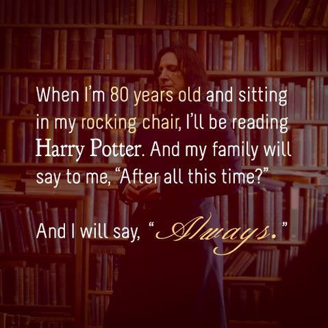 harry potter, always, and snape resmi