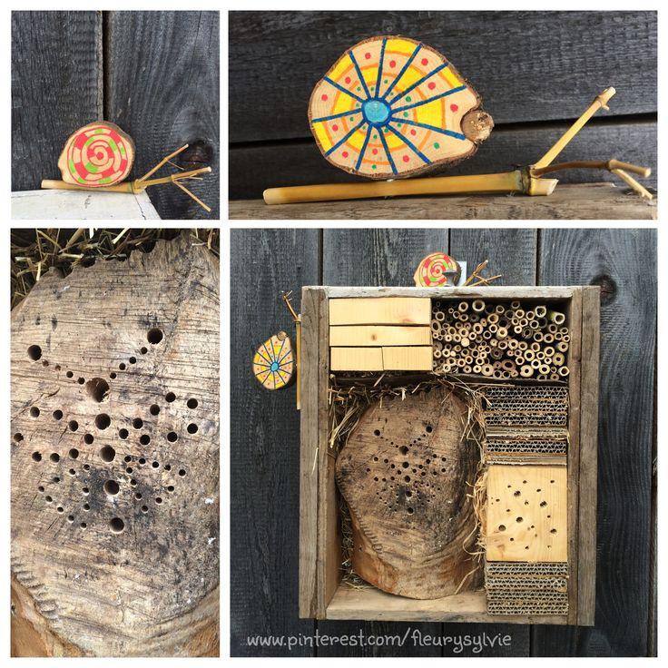 124 best images about mes creas pour les kids on pinterest pets ground hog and un - Hotel a insectes nature et decouverte ...