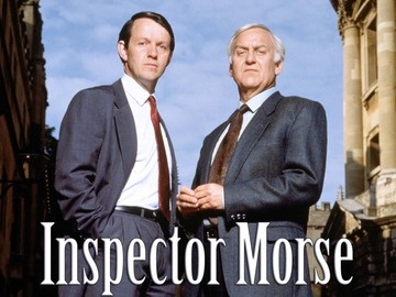 'Inspector Morse', with John Thaw and Kevin Whately. Started re-watching the series. There can never be too much Morse!
