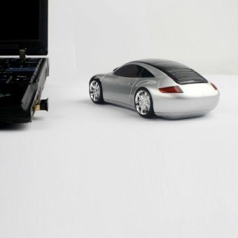 #design3000 Car Mouse DriftX – originelle Maus im Rennwagendesign.