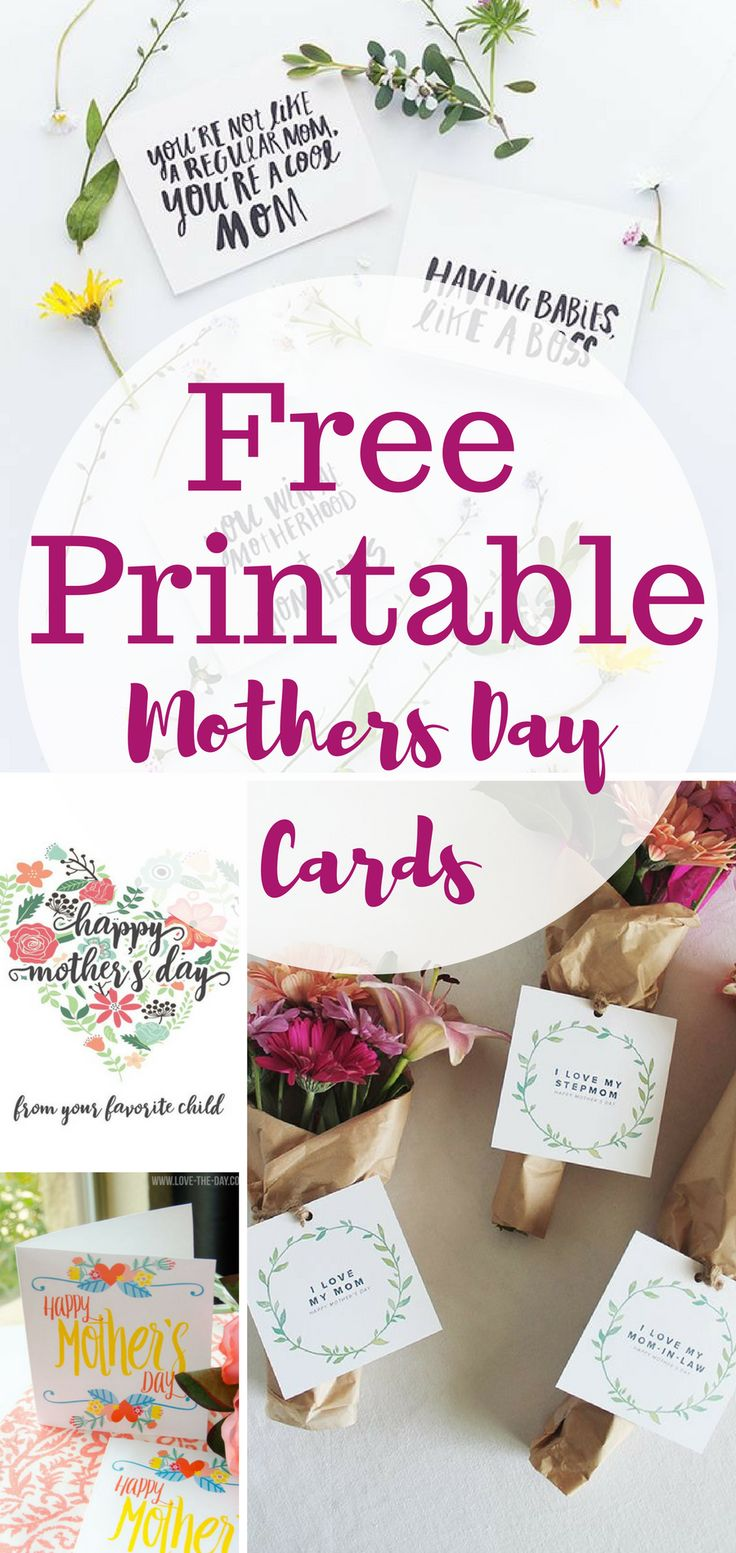 Mothers day coloring online - 10 Free Printable Cards For Mothers Day