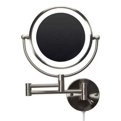 American Imagination LED Wallmount Magnifying Mirror