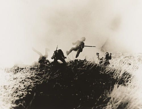 """Untitled, from the series """"Hitler Moves East""""  David Levinthal"""