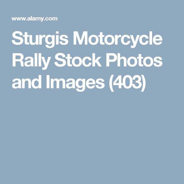 Sturgis Motorcycle RallyStock Photos and Images(403)