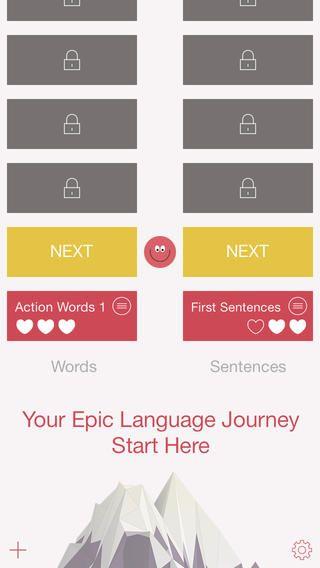 Learn English with Epic Language Games er en super gratis app. Hvor man træner forståelse og sæt sætninger op efter instruktion. Man stiger i level, hver gang man øver og får øvelserne rigtige. Rigtig god app.
