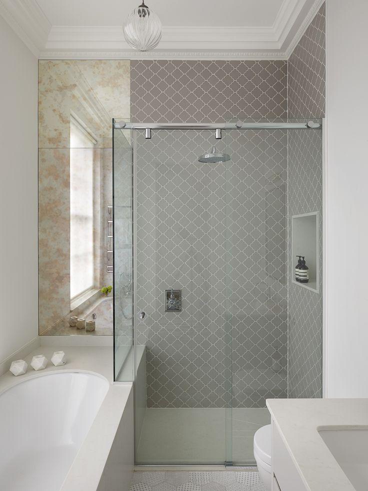 Westbourne Grove Townhouse Master Bathroom.  Designed by Talia Cobbold http://www.taliacobbold.com/
