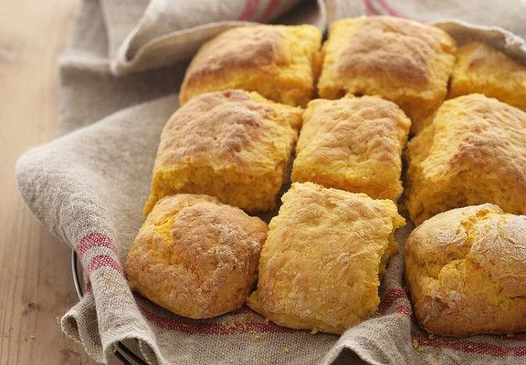 Spicing up a classic ... Jackie French's pumpkin scones.