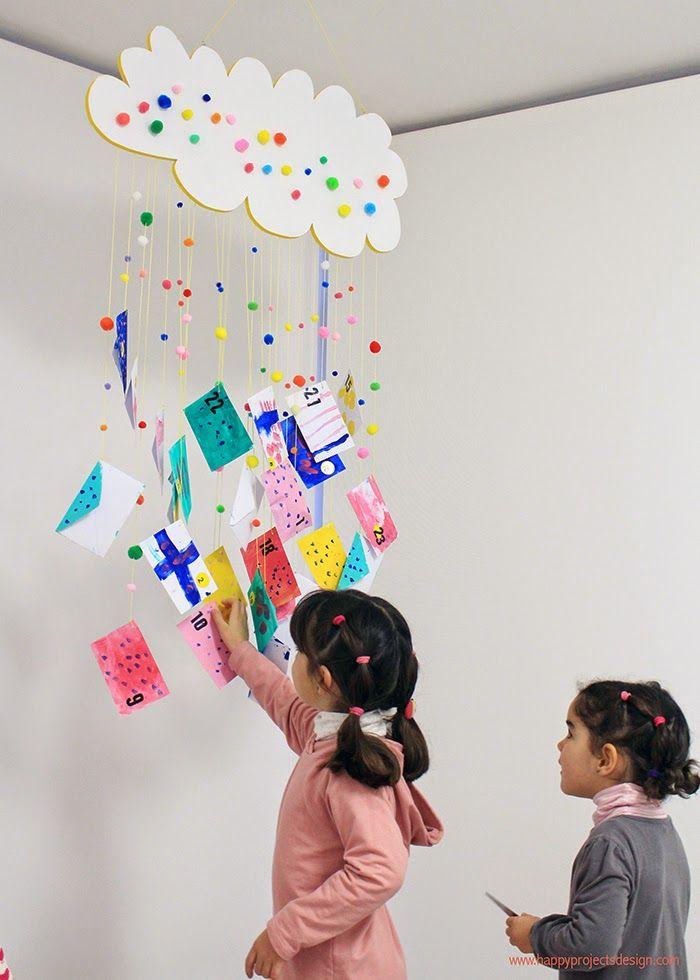 Calendario de adviento 2014 by HappyProjectsDesign.   #HappyNavidad                                                                                                                                                                                 Más