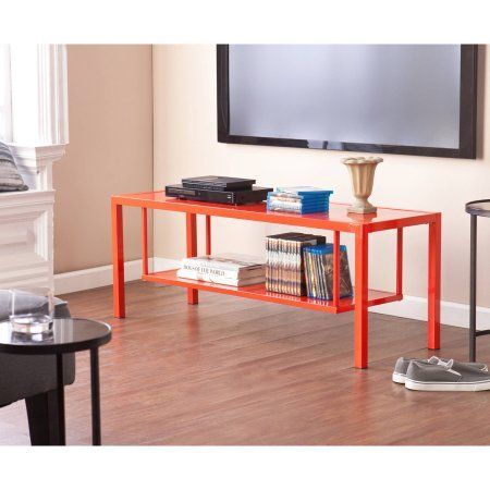 Holly & Martin Maians Media Console for TVs up to 46 inch, Red