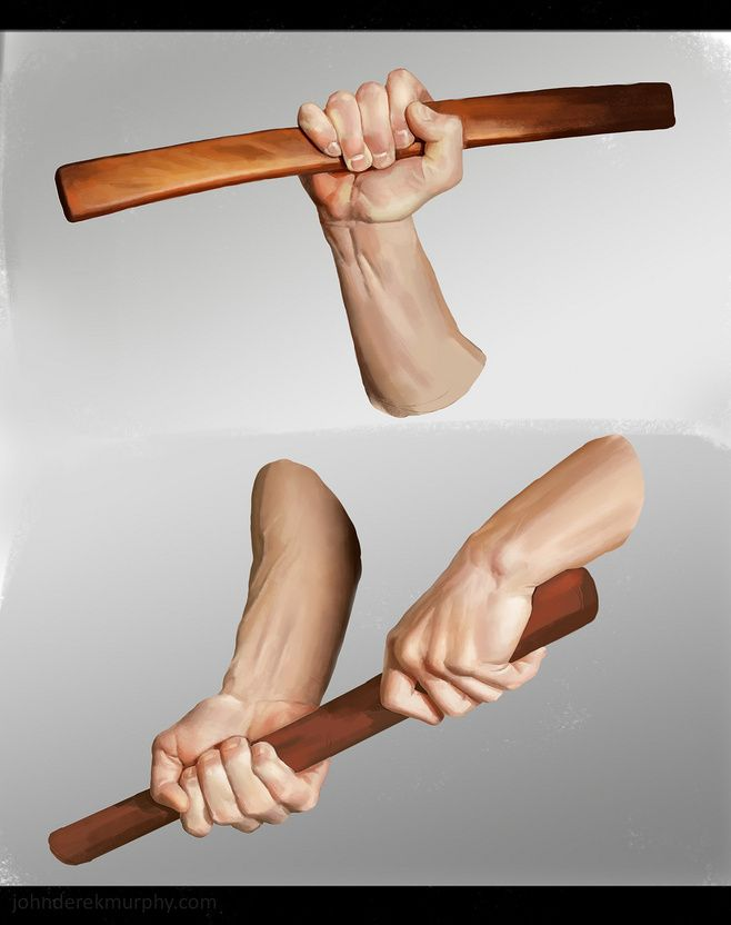 Hand study 3, John Derek Murphy — Human anatomy drawing references